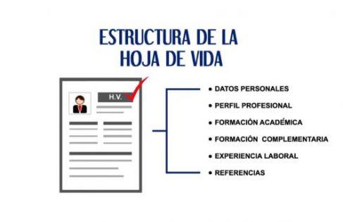 Formato Hoja De Vida Colombia 2018 Gestion En Finanzas