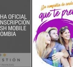 Fecha oficial de inscripción Flash Mobile Colombia