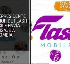 Vicepresidente Senior de Flash Mobile envía mensaje a Colombia